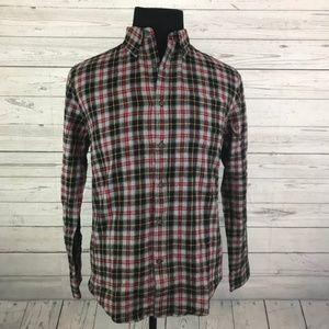 NEW St. John's Bay Mens Plaid Flannel Shirt S